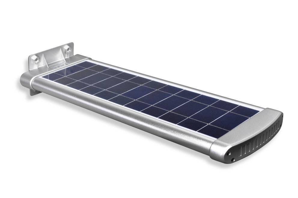 Sunen Lampa Parkowa Z Panelem Solarnym 1000lm