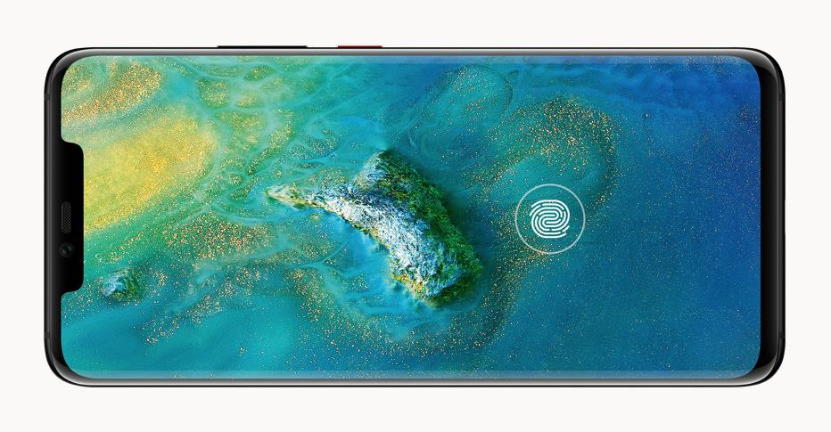 6ffa4326e97551 ... zlokalizowany w ekranie HUAWEI Mate20 Pro oraz funkcji umożliwiającej  odblokowanie smartfona spojrzeniem poprzez trójwymiarowe skanowanie rysów  twarzy.