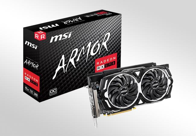 AMD Radeon RX 590 - Front