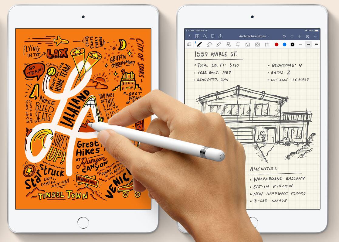 Apple iPad mini (2019) - Lekki i smukły