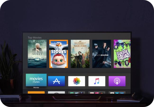 Apple TV - aplikacje