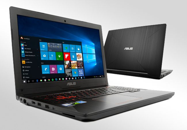 ASUS FX503VD - Front