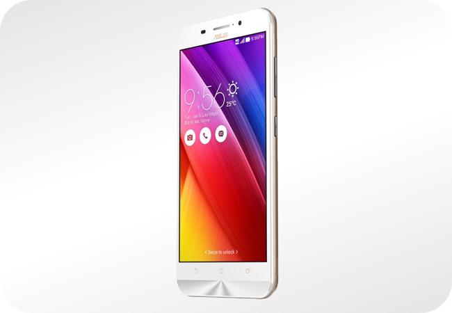 ASUS Zenfone Max Dual SIM (ZC550KL) - widok z przodu