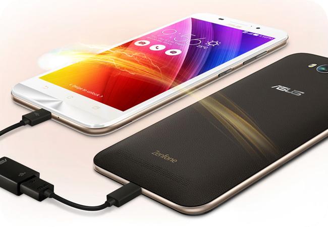 ASUS Zenfone Max Dual SIM (ZC550KL) - pojemna bateria i opcja pracy jako powerbank