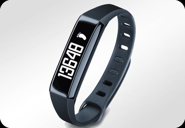Beurer AS 80 - Rejestrowanie aktywności w dzień i w nocy