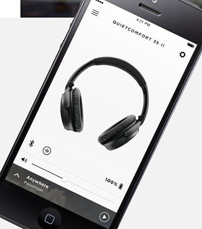 Bose QuietComfort 35 II - Dedykowana aplikacja