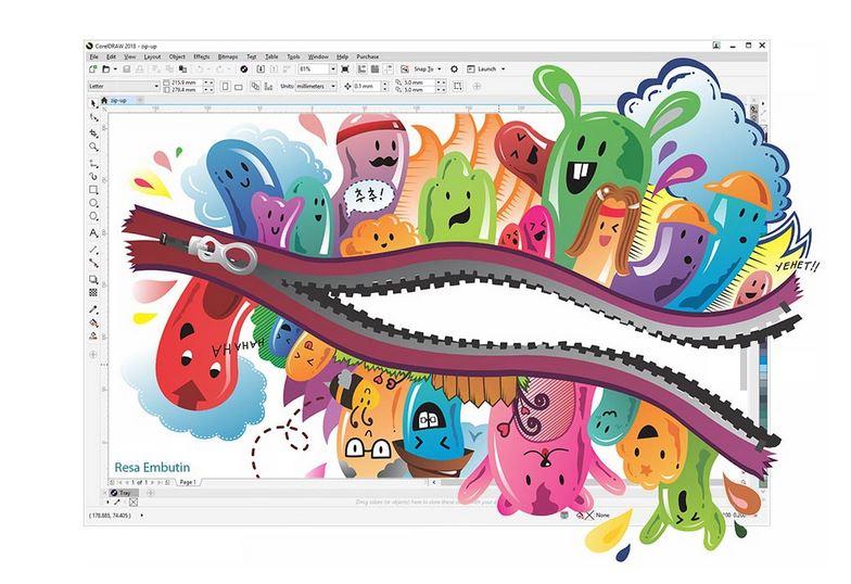CorelDRAW Graphics Suite 2018 - Funkcje