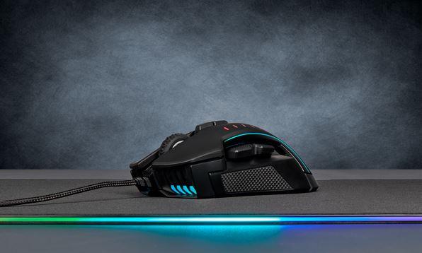 Corsair Glaive Pro RGB - Podświetlenie
