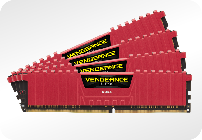 Corsair Vengeance LPX DDR4 - kości pamięci