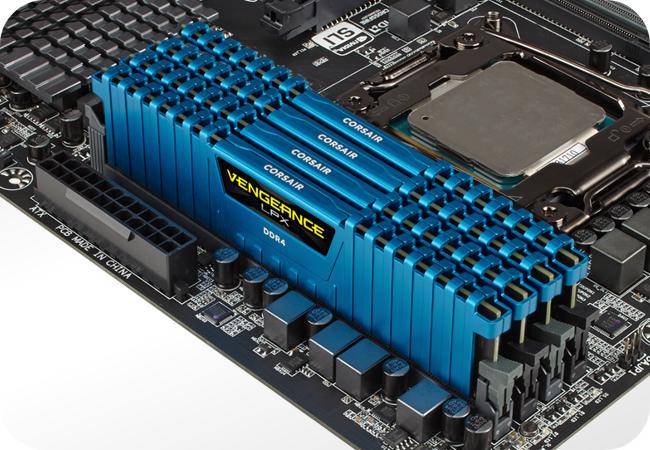 Corsair Vengeance LPX DDR4 - kompatybilność z płytami głównymi