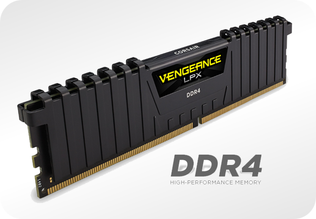 Corsair Vengeance LPX DDR4 - wygląd kości