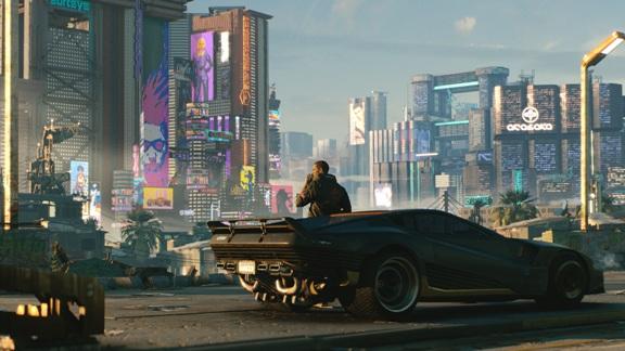 Cyberpunk 2077 - miasto Night City