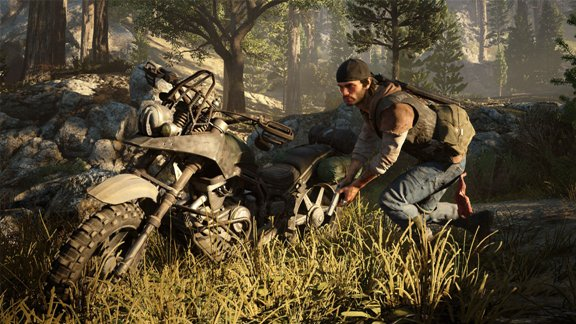 Days Gone - motocykl