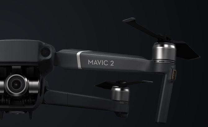 DJI MAVIC 2 ZOOM - Aerodynamiczność