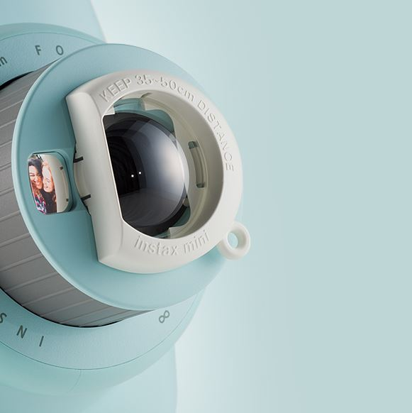 Fujifilm Instax Mini 9 - Nakładka na obiektyw