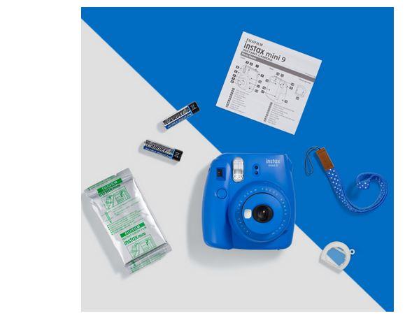 Fujifilm Instax Mini 9 - Nowoczesny design