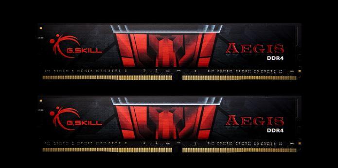 G.SKILL Aegis DDR4 - Częstotliwość