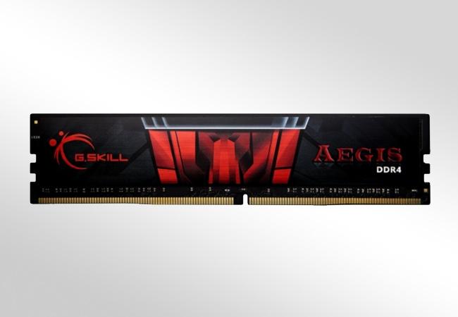 G.SKILL Aegis DDR4 - Front