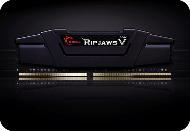 G.SKILL RipjawsV DDR4 - wygląd