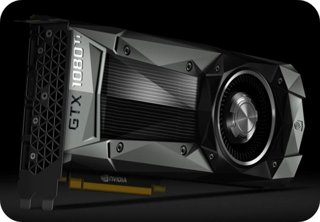 NVIDIA GTX 1080 Ti - 11GB pamięci GDDR5X!