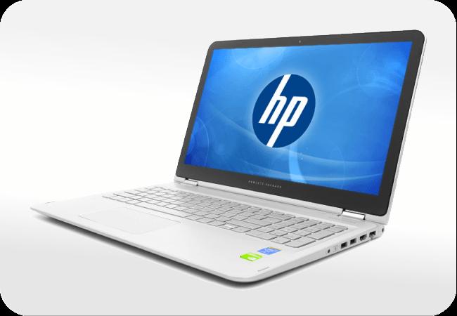 HP ENVY x360 15 - wygląd z przodu