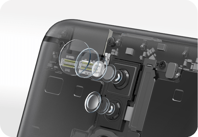 Huawei Mate 10 Lite DualSim - Podwójny aparat