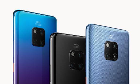 Huawei Mate 20 Pro - aparaty