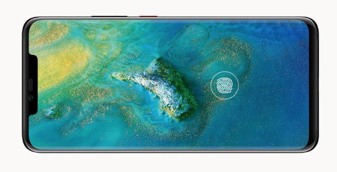 Huawei Mate 20 Pro - zabezpieczenia