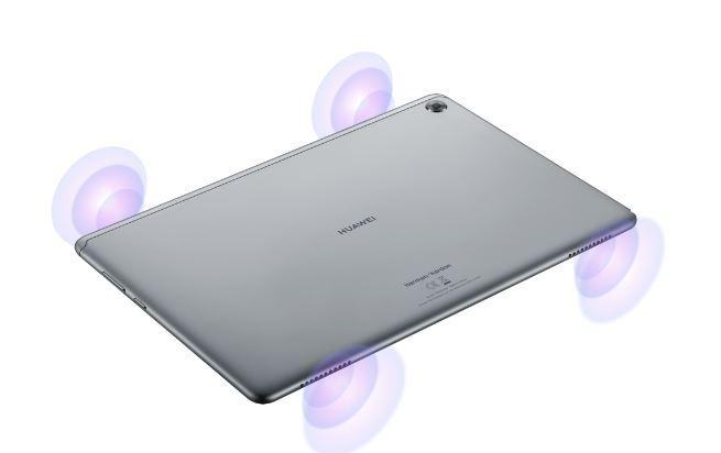 Huawei MediaPad M5 Lite - wysoka jakość dźwięku