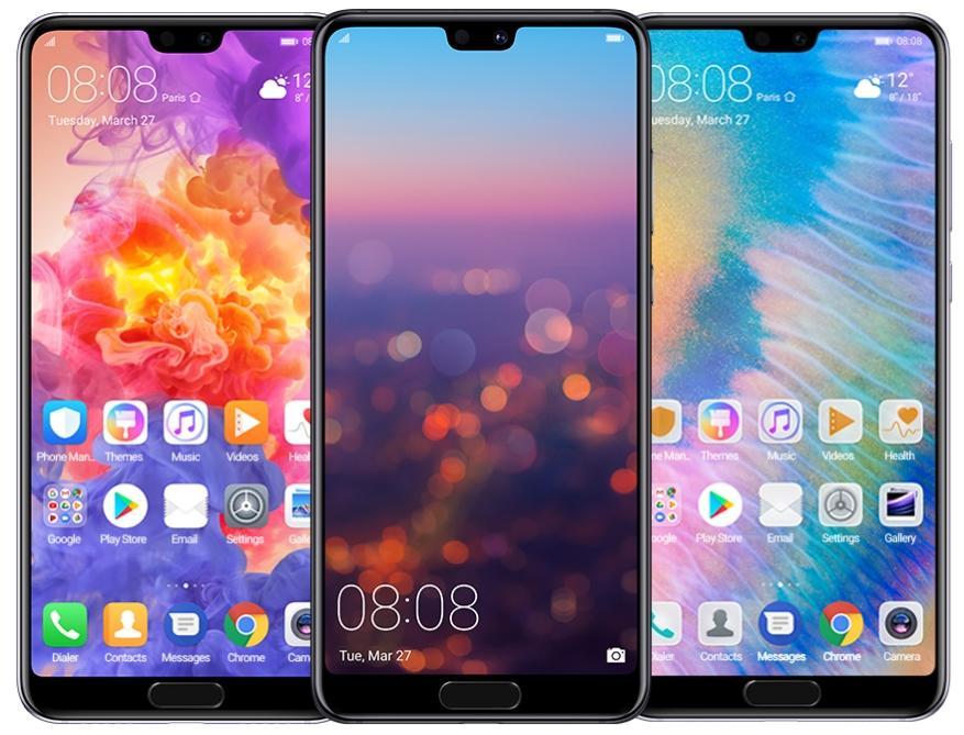 Huawei P20 - ekran