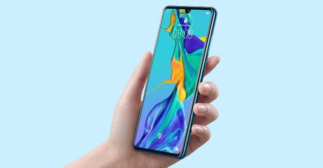 Huawei P30 - ekran