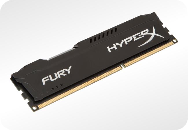 Pamięci HyperX Fury DDR4 - praca w wielu częstotliwościach
