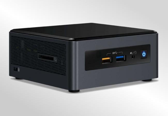 Intel NUC Crimson Canyon - wygląd