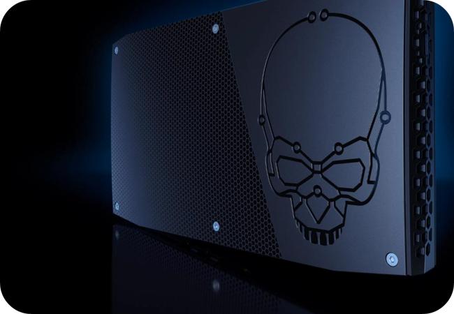Intel NUC Skull Canyon - design