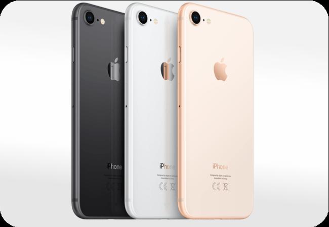 iPhone 8 - dostępne warianty