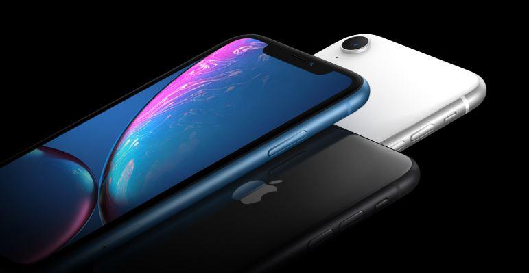 iPhone XR - ekran