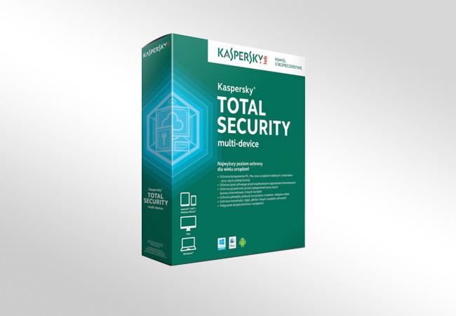 Kaspersky Total Security - opakowanie