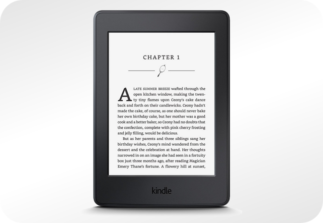 Kindle All-New Paperwhite 3 - widok z przodu