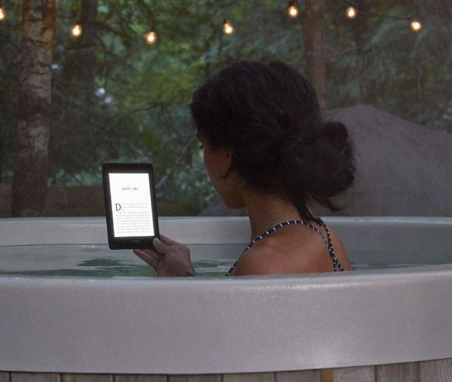 Kindle Paperwhite 4 - Podświetlenie