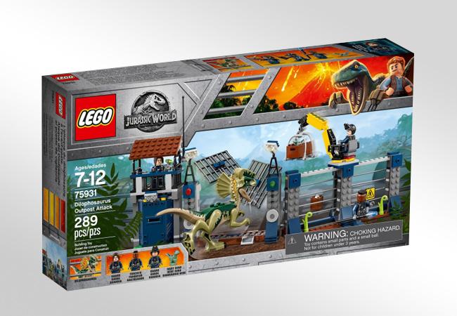 Klocki LEGO Jurassic World - Efekty specjalne