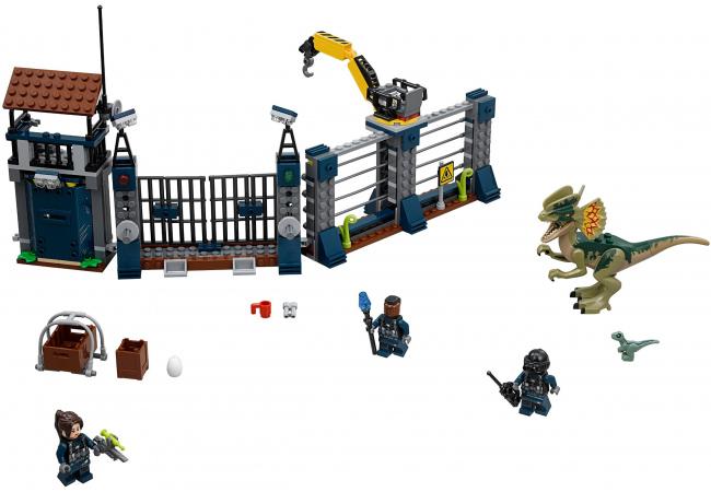 Klocki LEGO Jurassic World - Postaci i miejsca