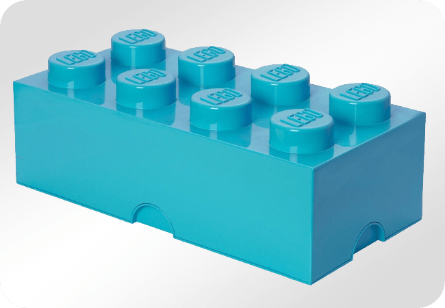 Lego Brick 8 Dif Only - Front