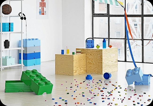 Lego Brick 8 Dif Only - Trwałość i solidność