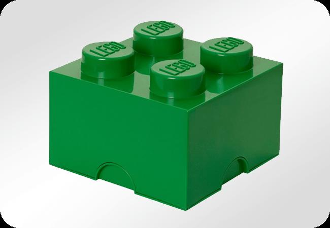 Lego Storage Brick 4 - Front