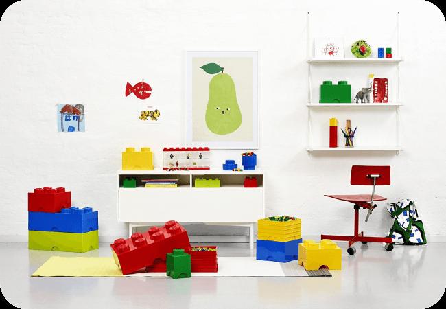 LEGO Storage Brick 8 - Pomysłowy design