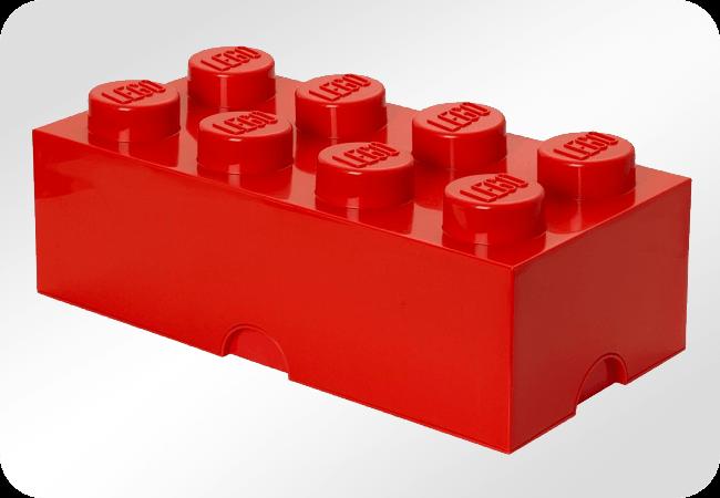 LEGO Storage Brick 8 - Front