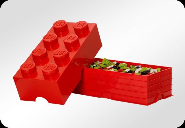 LEGO Storage Brick 8 - Wygodne przechowywanie