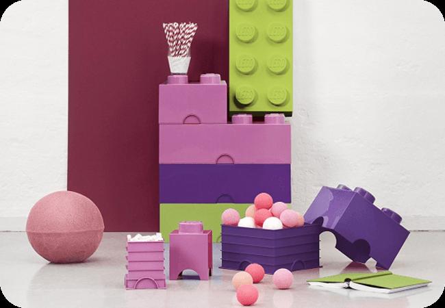 LEGO Storage Brick Friends - Możliwość budowania