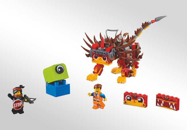 Klocki LEGO The Movie 2 - Modyfikacja i łączenie