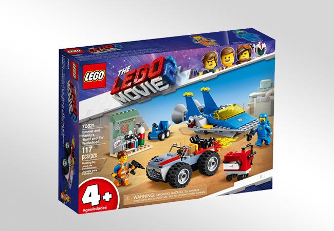 Klocki LEGO The Movie 2 - Poziomy trudności